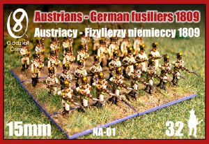Oddzial Osmy 15mm Austrian Fusiliers