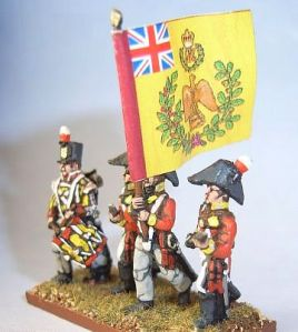 The Chained Eagle. 15mm Britihs infantry from AB Figures