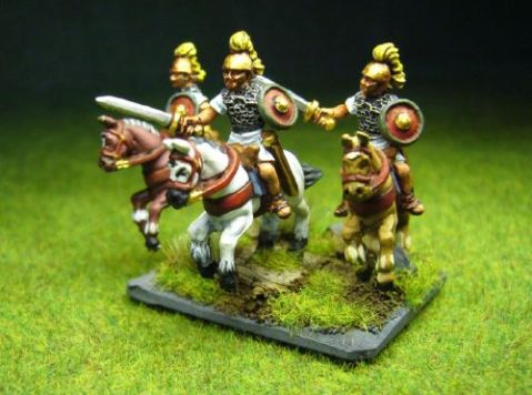 Camelot Miniatures, 15mm Republican Roman Equites