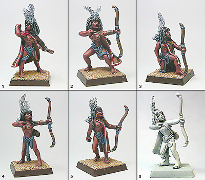 Shadowforge 28mm Temple of the Light Auxiliary Archers