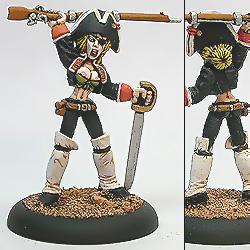 Laughing Monk: Captain Jane's Rifles
