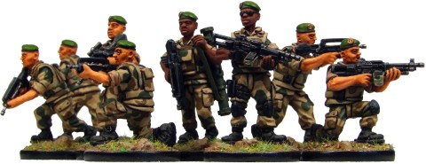 Eureka Miniatures: 28mm Modern French Foreign Legion