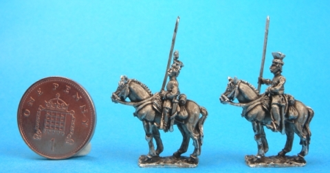 15mm Krakus cavalry 1813