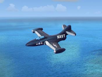 Oddzial Osmy 1:600 F9F Panther