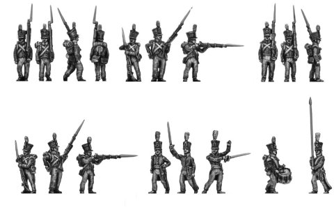 15mm AB Figures: 1815 Dutch line infantry