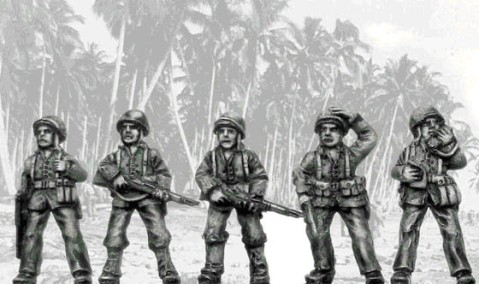 Eureka Miniatures 20mm US Marines, Pacific Theatre 1941-45