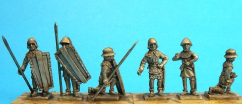 15mm Teutonic Order spearmen