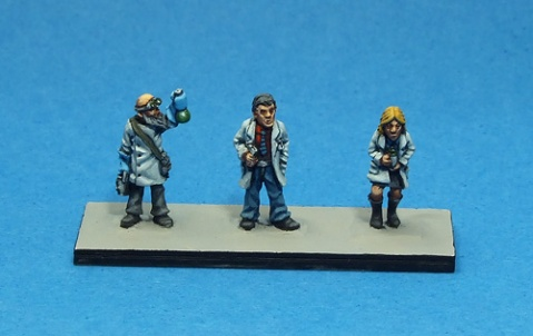 Oddzial Osmy 15mm: SF-1527 Scientists