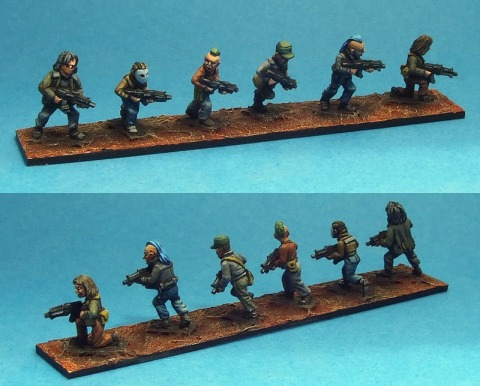 15mm Oddzial Osmy: SF-1528 Insurgents