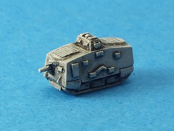 GW-602 A7V - part of Oddzial Osmy's new Great War line in 1:600