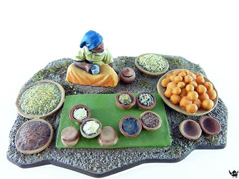 28mm Eureka Miniatures: Modern African Market
