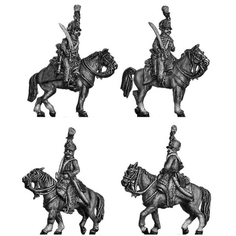 15mm AB Figures: KK60 Austrian hussar at rest