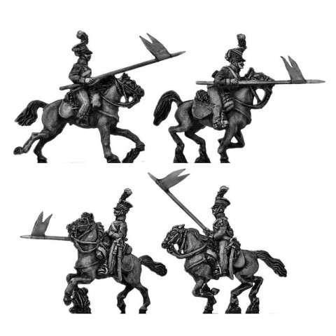 15mm AB Figures: KK65 Austrian uhlan charging