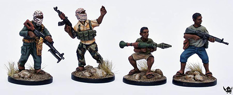 Eureka Miniatures: 28mm Somalis