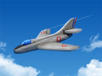 FR-619 Mystere IVA fighter