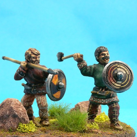 40mm Flashing Blade figures - now called Fighting 40s