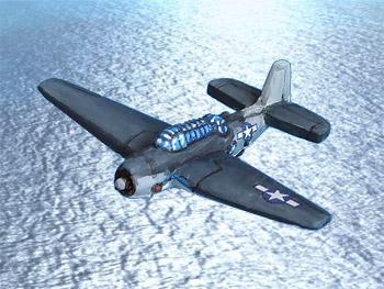 Oddzial Osmy 1:600 - WUS-647 TBF Avenger torpedo bomber