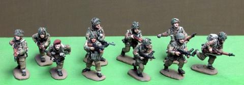 AB-INB51 British Airborne squad advancing