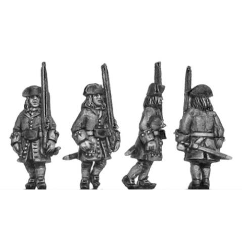 300WSS150 Catalonian line infantry marching