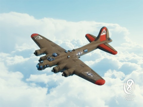 WUS-654 B-17G Flying Fortress