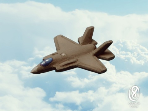 US-6103 F-35A Lightning II - is it a bird, is it a plane, no, don't make us laugh...