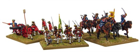 Eureka Miniatures' 18mm Seven Years War French